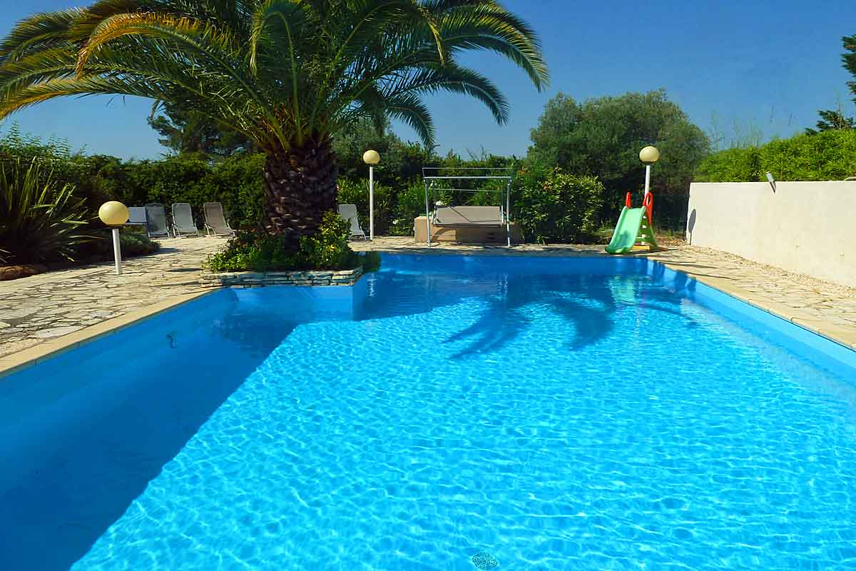 Large family rental in Pezenas