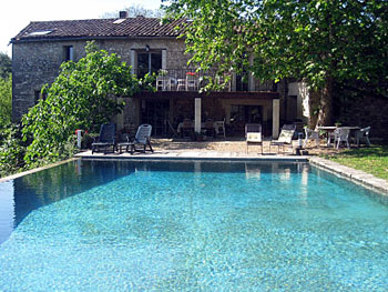 Large family rental Languedoc Gard
