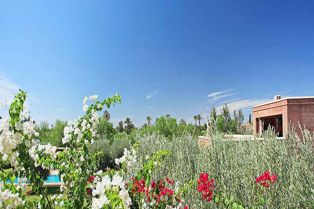 Marrakesh Luxury Villa Rental for 12