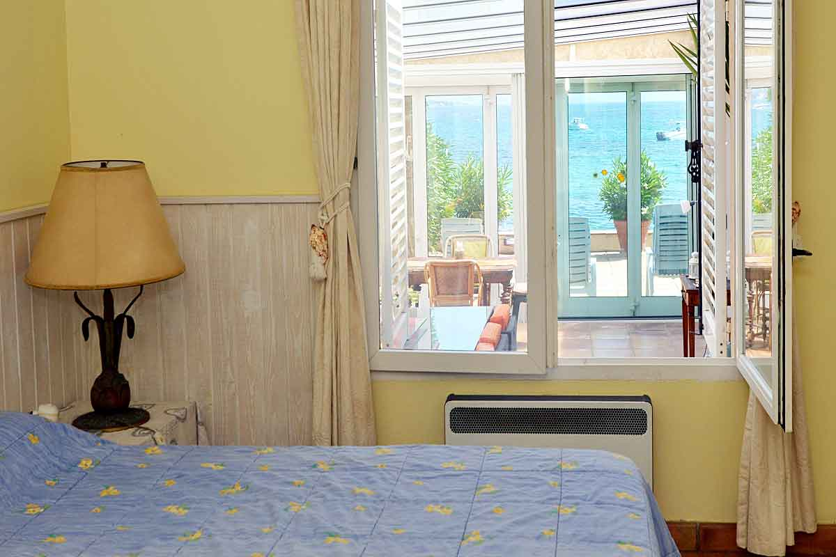 South of France beachfront Holiday Rental for 8