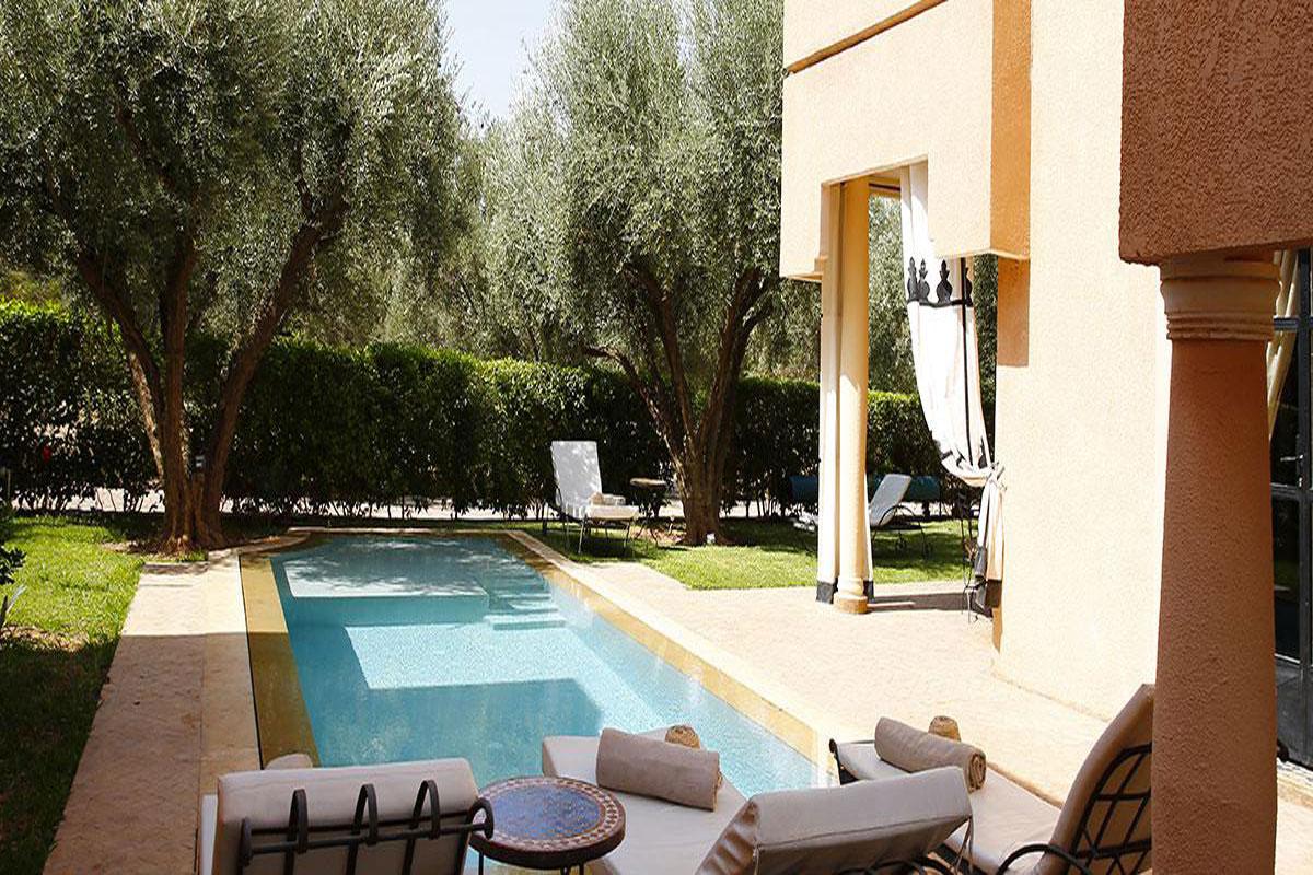 Private Pool And Garden Morocco Villa Rental