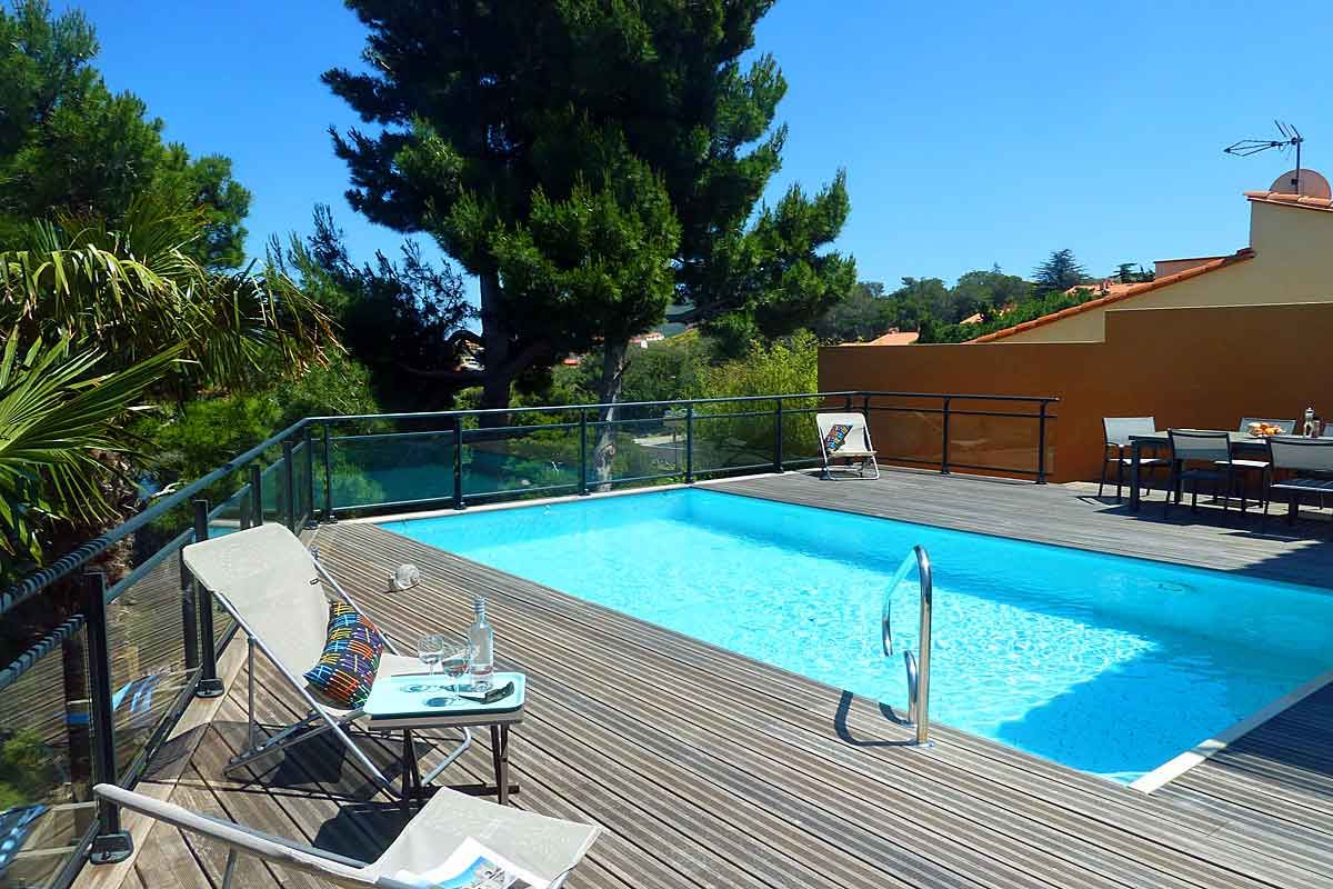 Vacation Villa with pool in Collioure