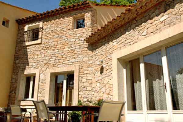 Terrace - Maison Sophie - Villa to Rent in Provence