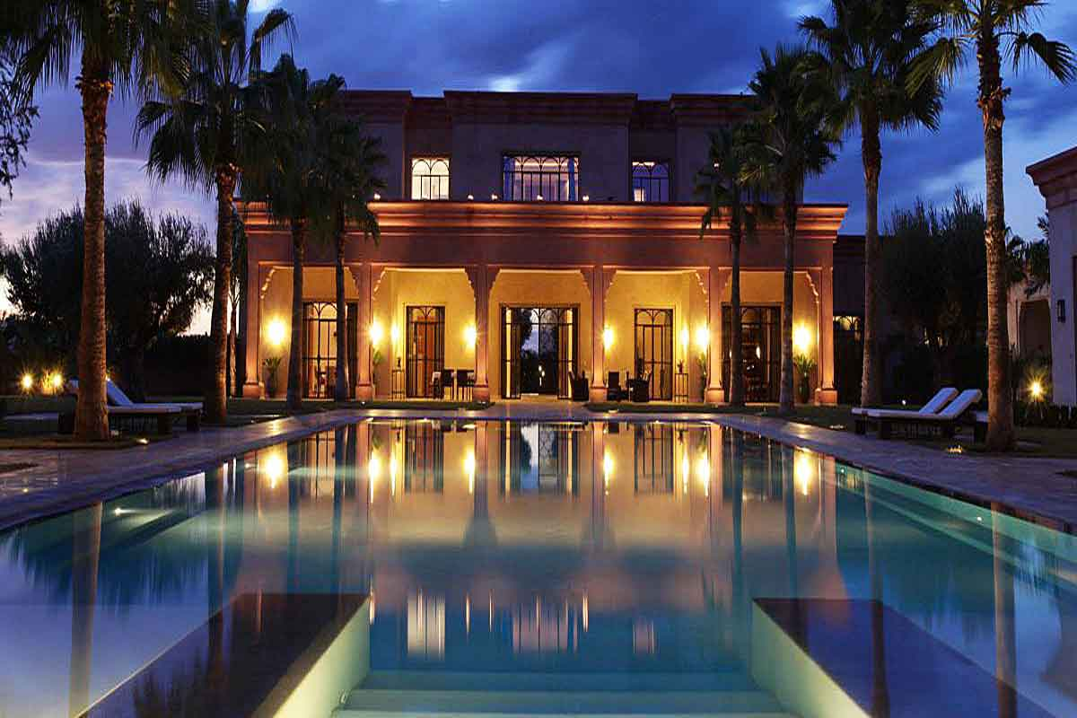 Moroccan Luxury Villa with Pool to Rent in Marrakech ...