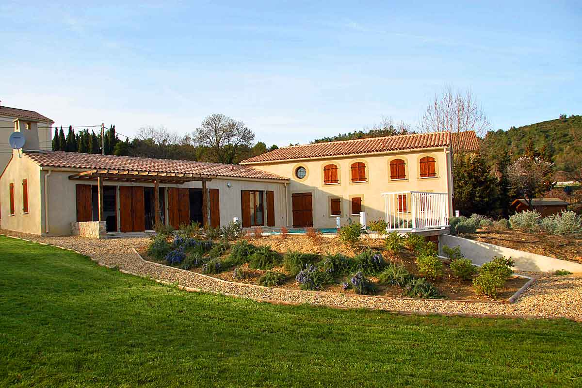 Minervois Villa Rental with pool