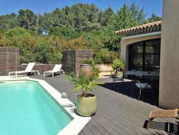 Rent Villa Beziers Languedoc for 6 pool