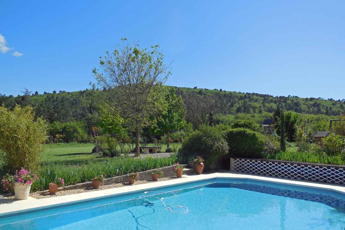 Large Pool In Stunning Private Garden (use Shared With Discreet Owners)  Villa Rental Provence
