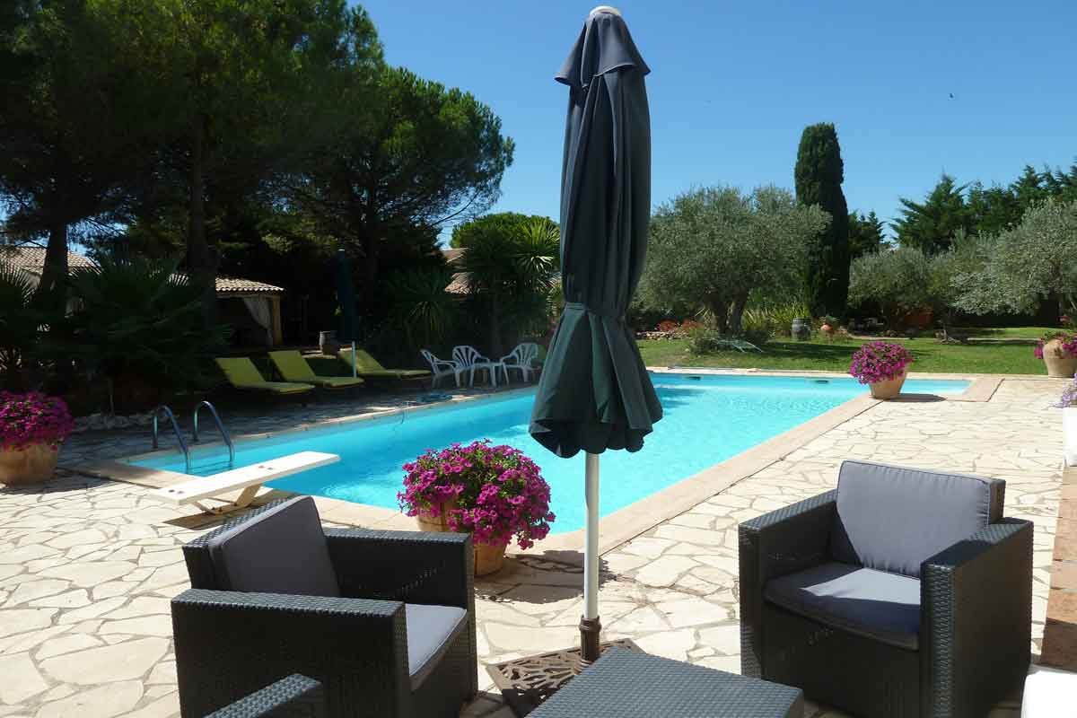 Villa Rental South of France pool