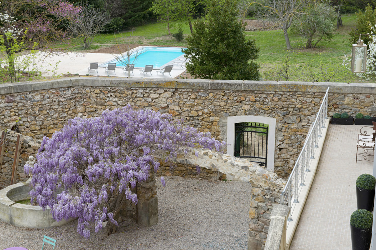 Languedoc large family rental with pool