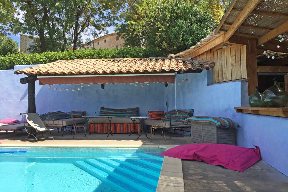 Large Villa Rental near Pezenas