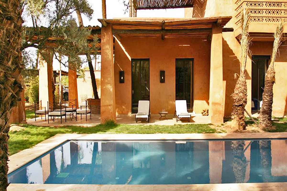 Villa And Pool Moroccan Villa For Rent