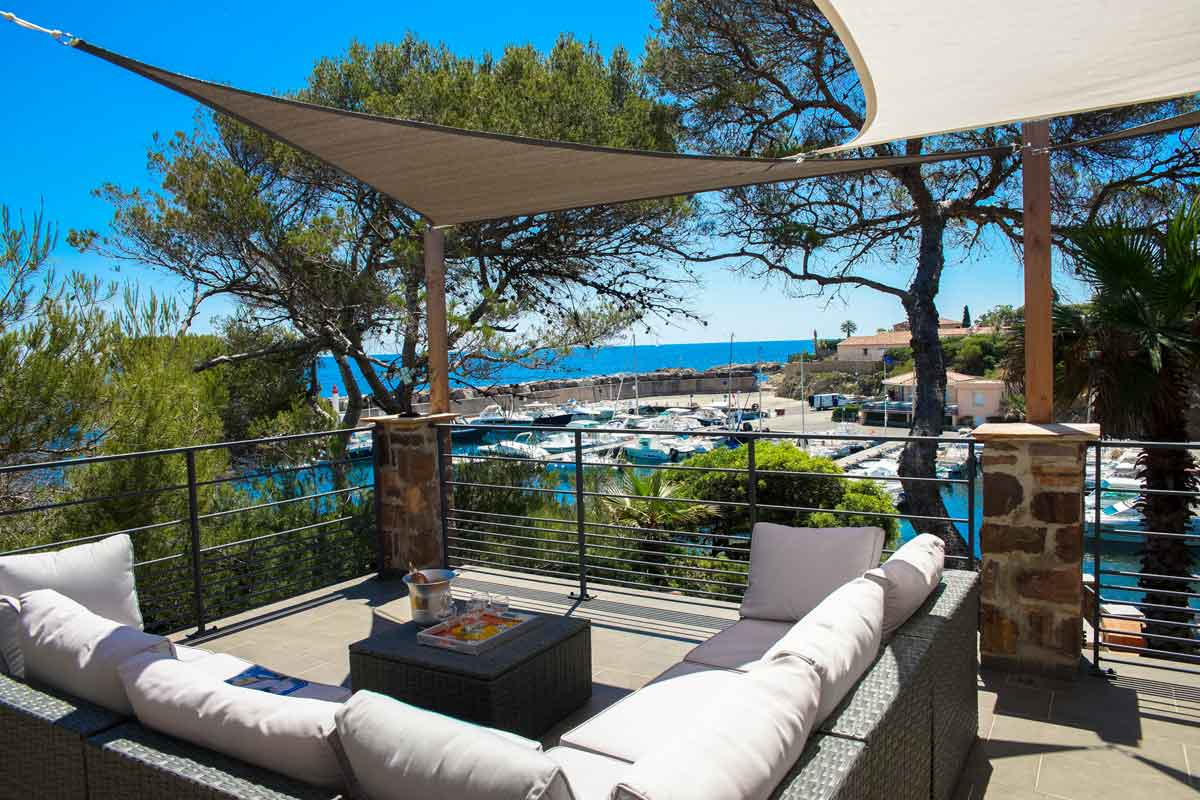 South of France Seafront Holiday Home
