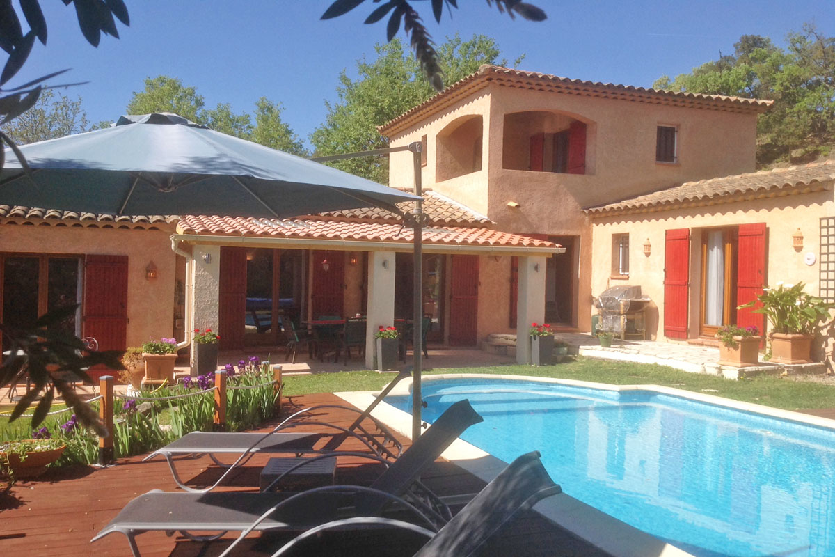 Rental Villa near Frejus for 6 with pool