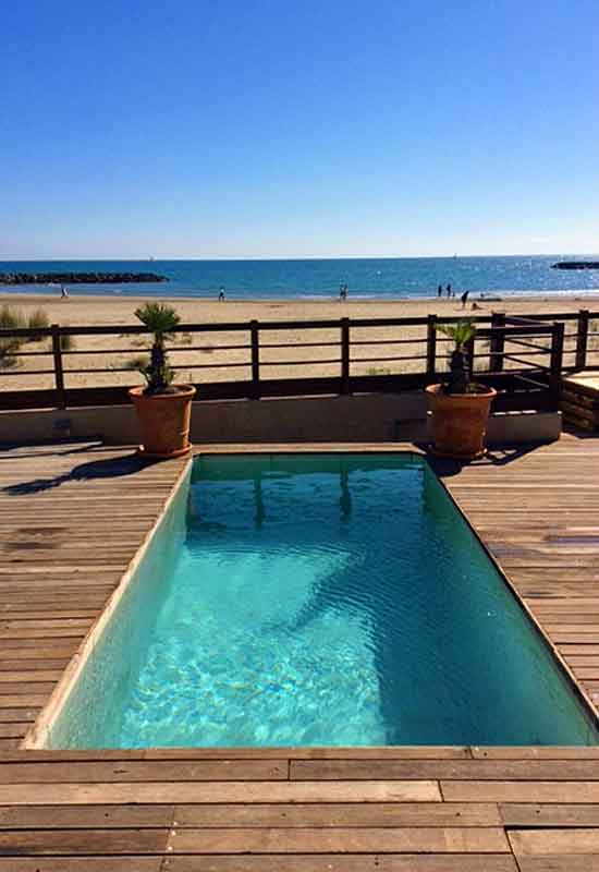 Beachfront Villa in Languedoc