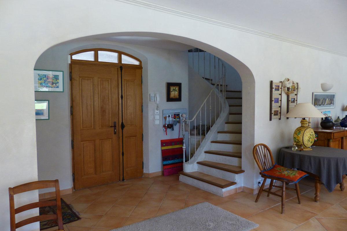 Hallway Vacation Villa South of France 10
