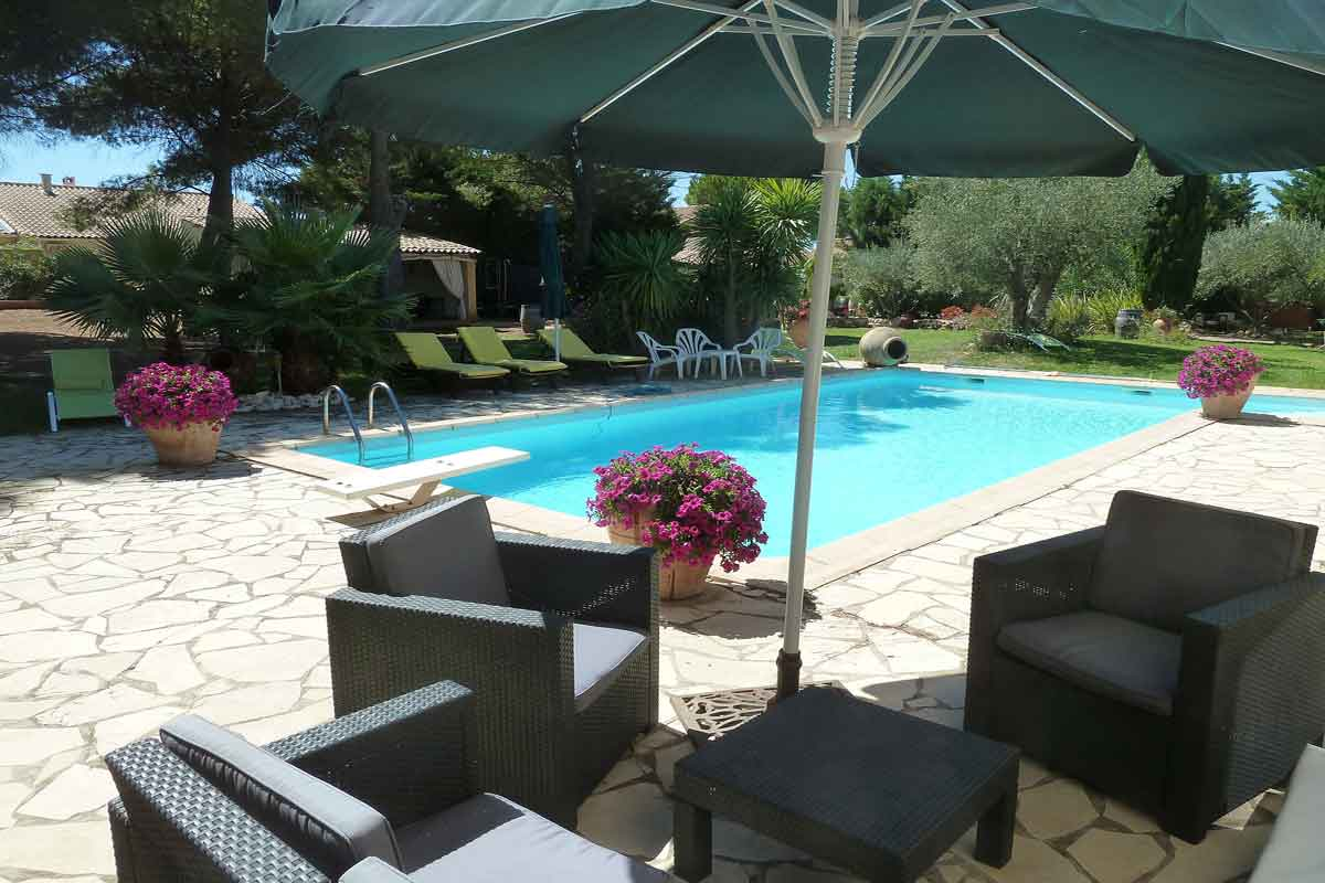 French villa in Languedoc to rent