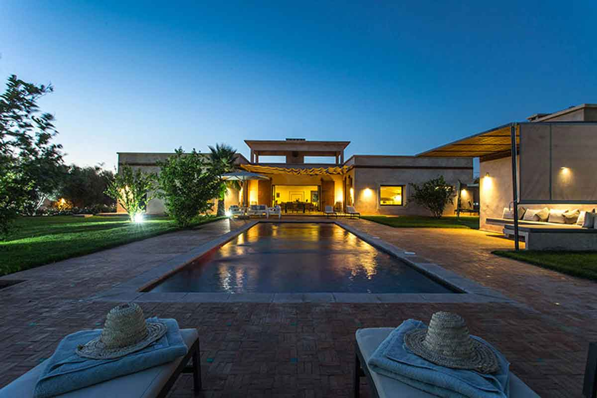 Luxury Moroccan villa