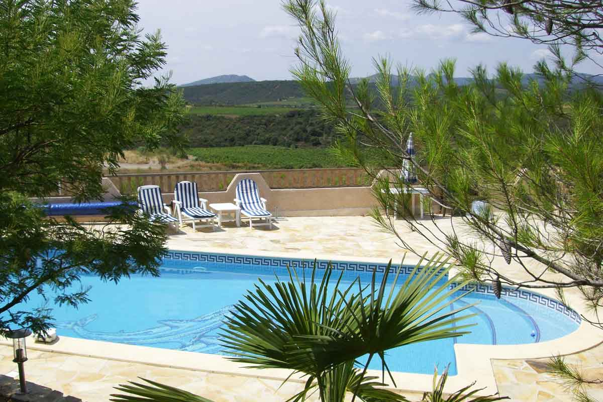 South of France Villa Rental Pool