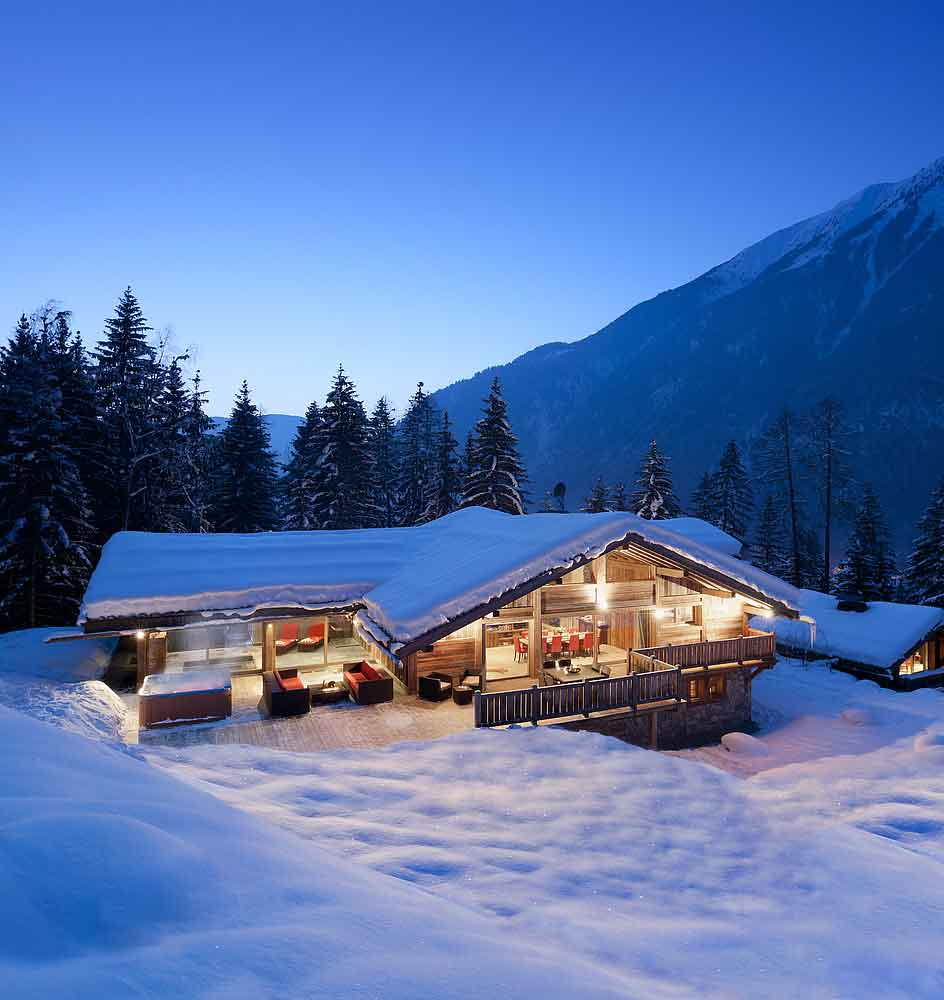 Photo Gallery French Alps Luxury Holiday Ski Chalet With