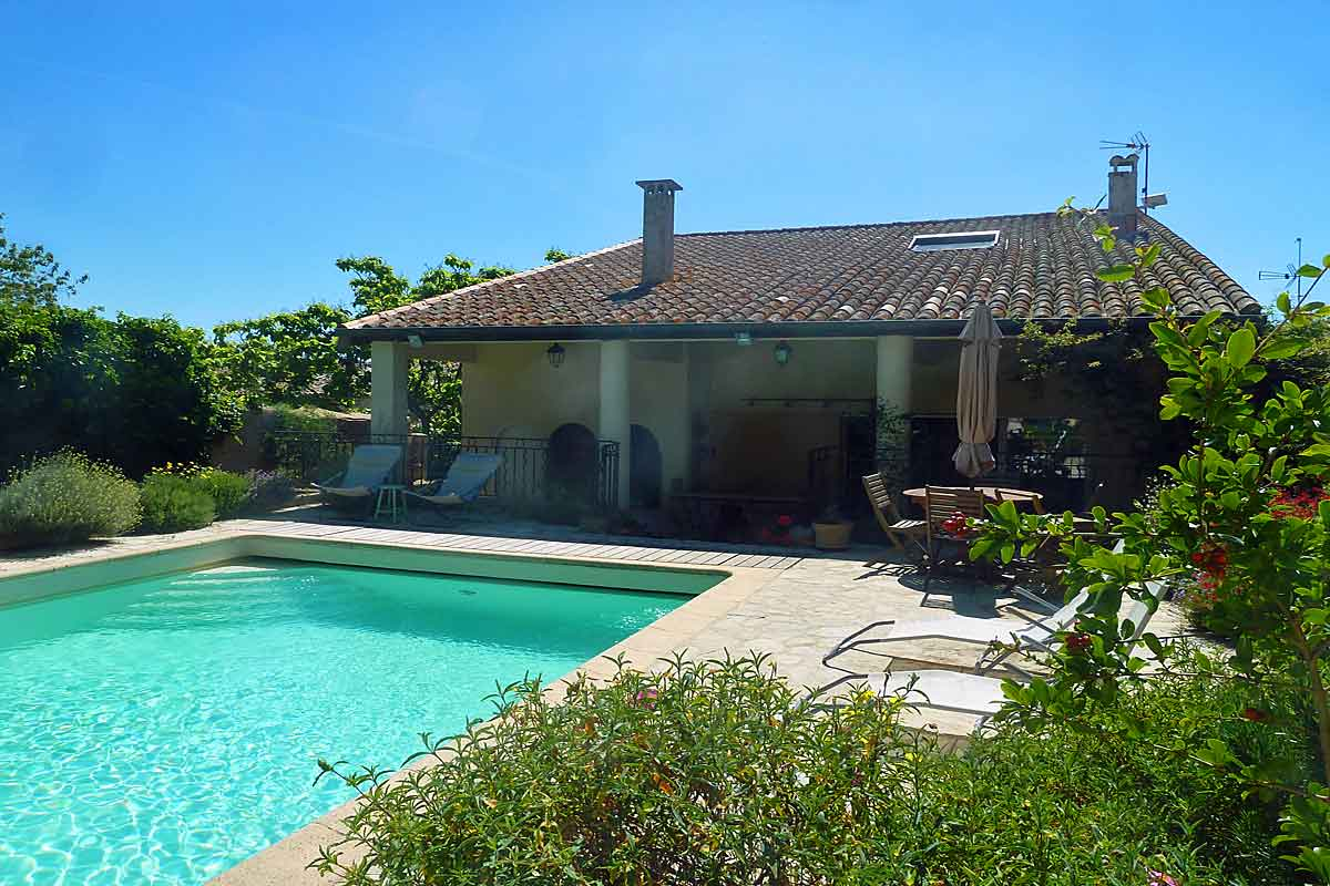 Salt Water Heated Pool And Covered Terrace Holiday Villa ...