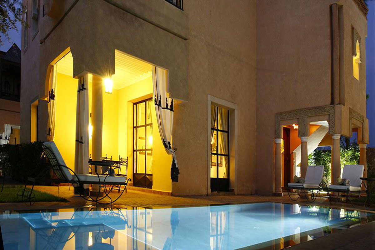 Moroccan Luxury Holiday Villa Riad With Pool On A Private