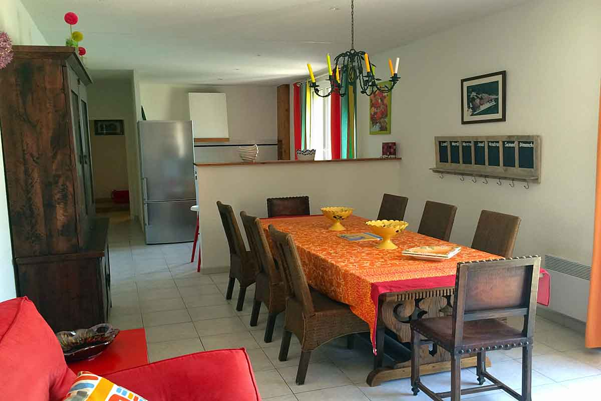 Large family villa Languedoc 21