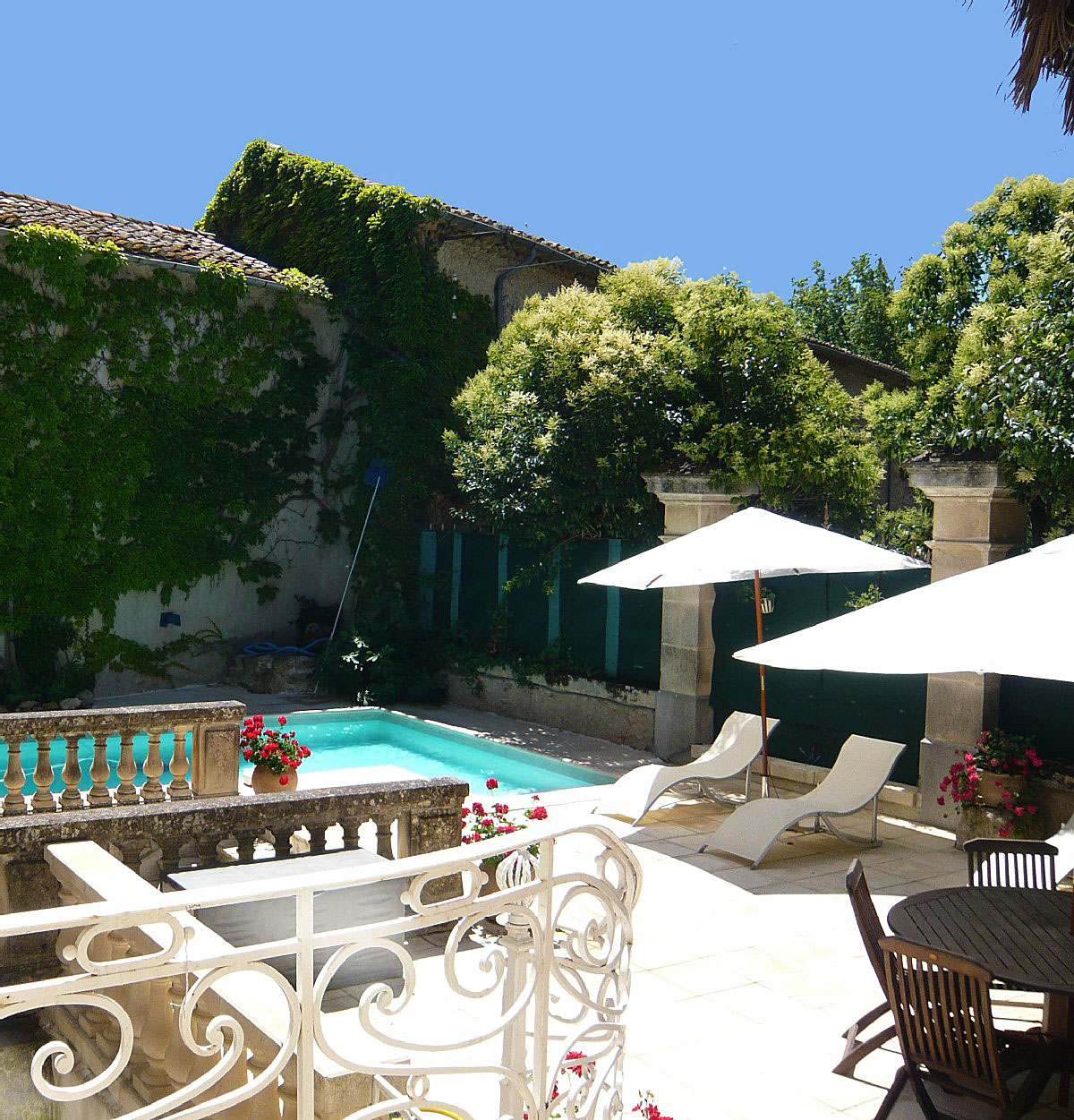 Villa Rental South of France 6 pool