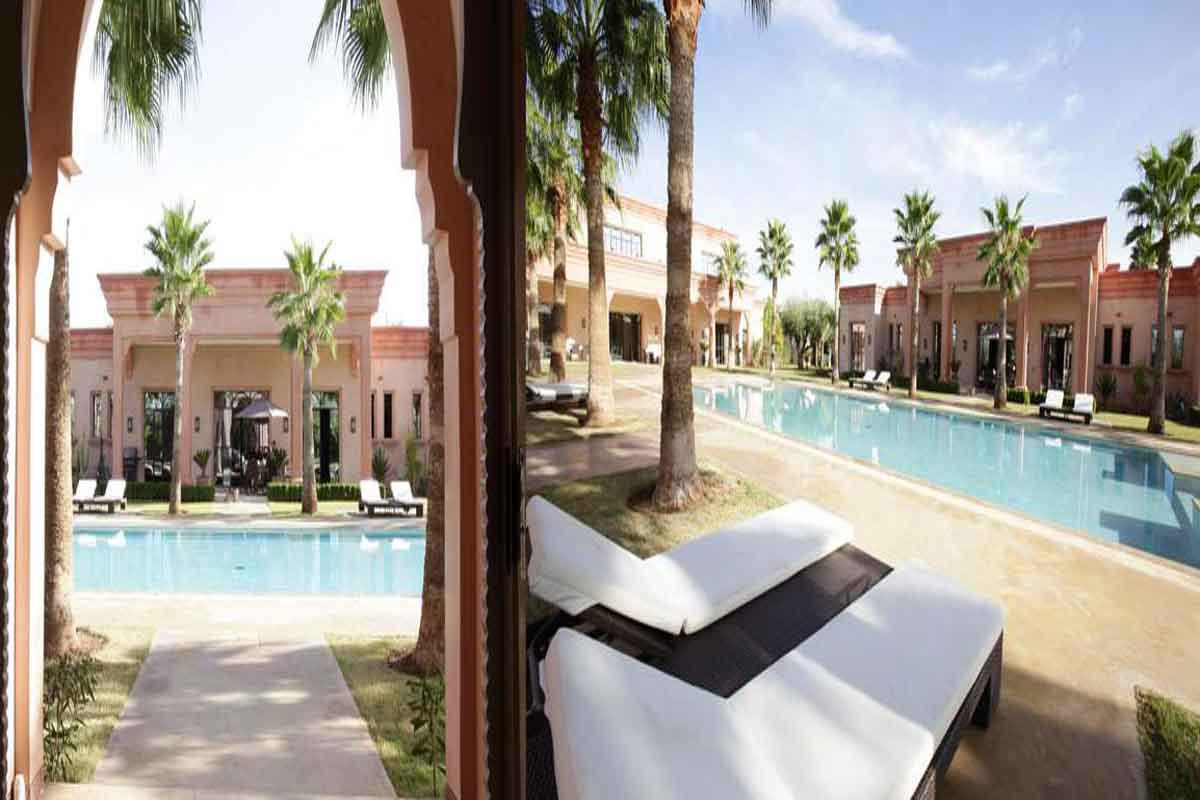 rental villa Marrakech Morocco