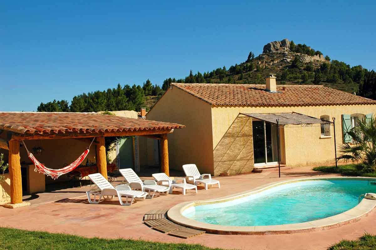 Languedoc Holiday Villa With Heated Pool To Rent In The Corbieres South Of France