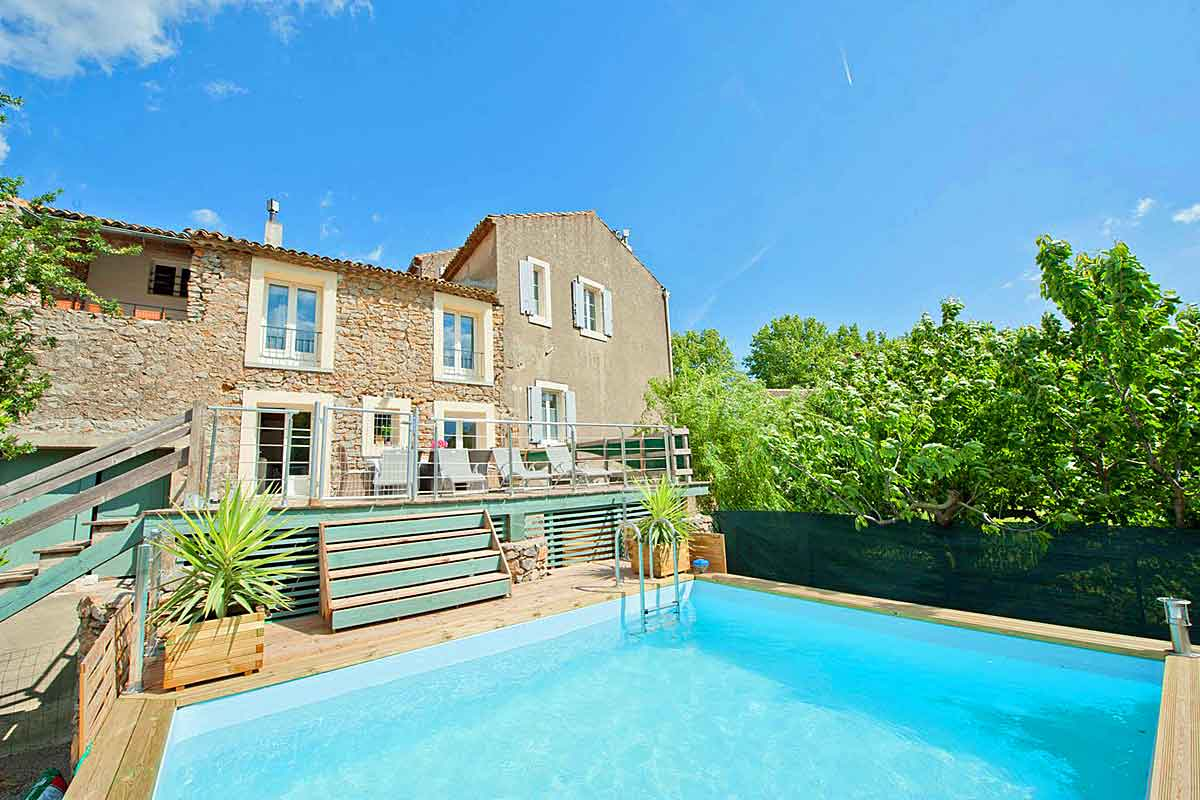 Villas with child friendly pools in the south of france for France pools