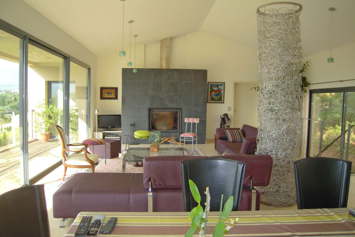 Rental Villa near Avignon with pool for 8