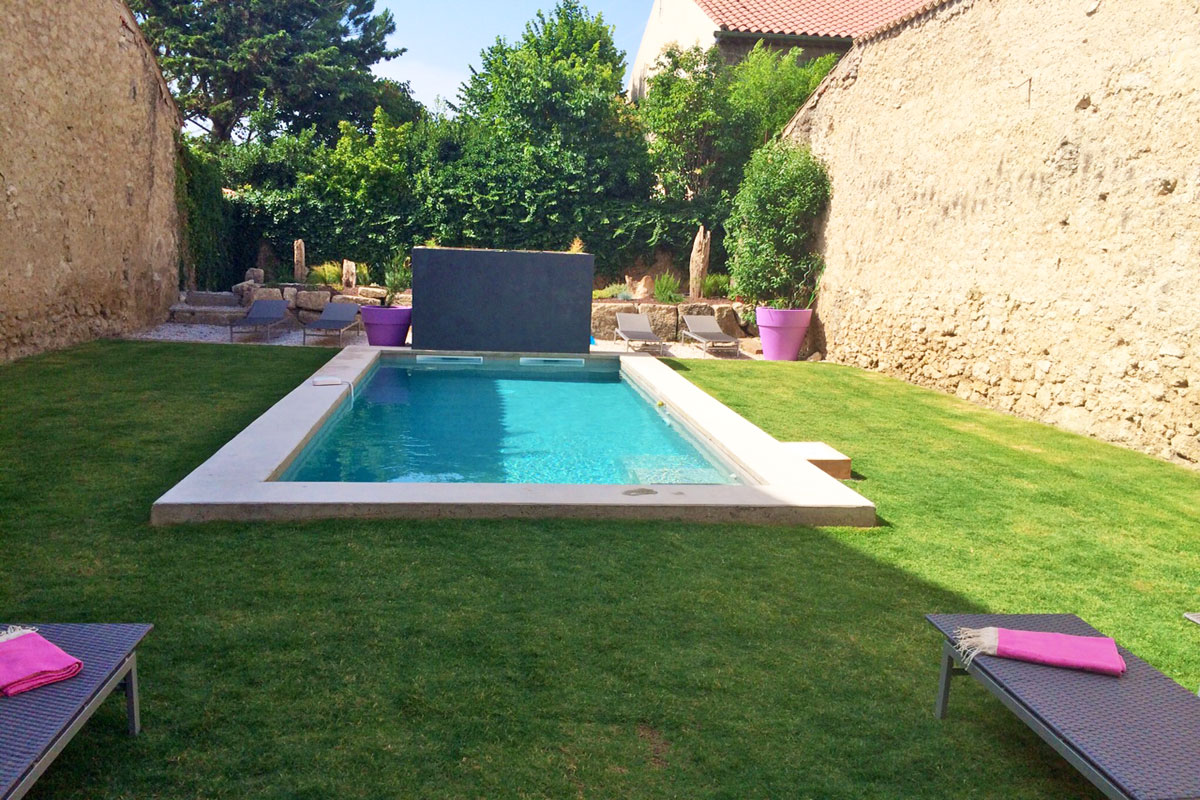 Family Rental Beziers 6 pool