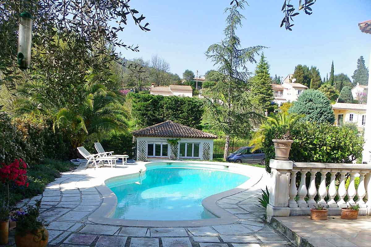 South Of France Villa With Pool For Rent Between Cannes