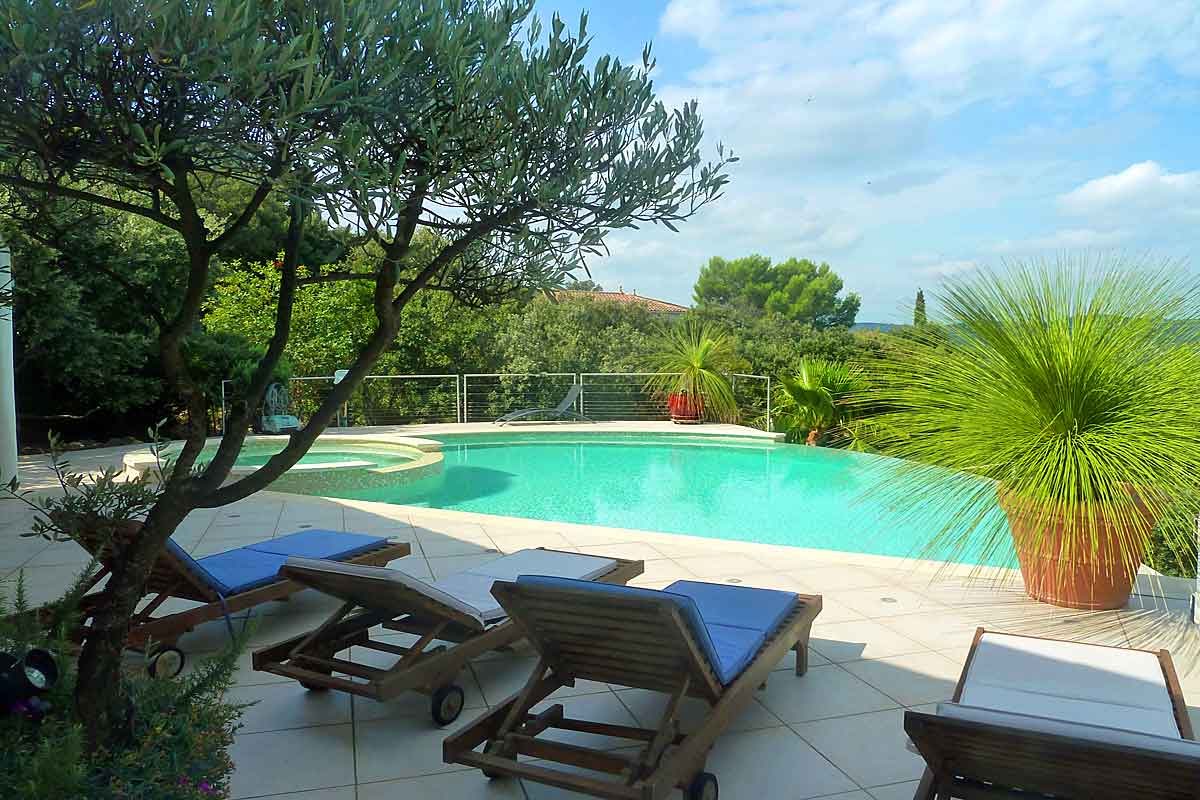 South of France Family Rental with pool
