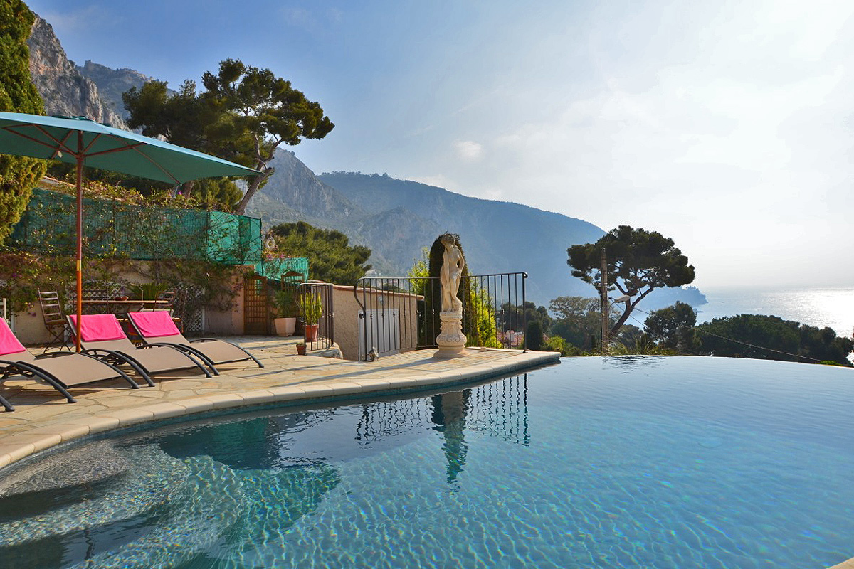 Cote D Azur Uber Luxury Holiday Villa With Heated Pool In Eze