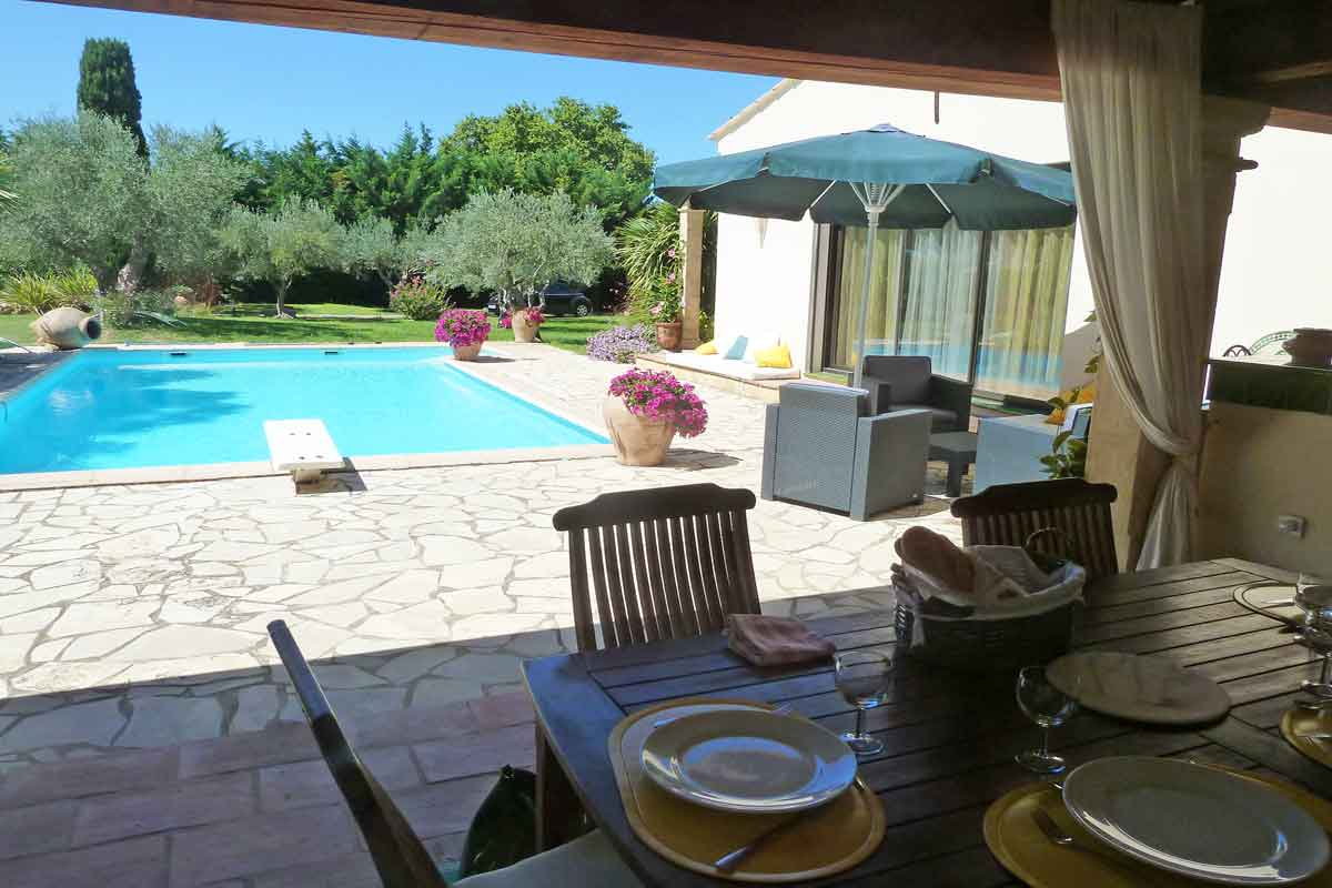 South of France villa rental 6