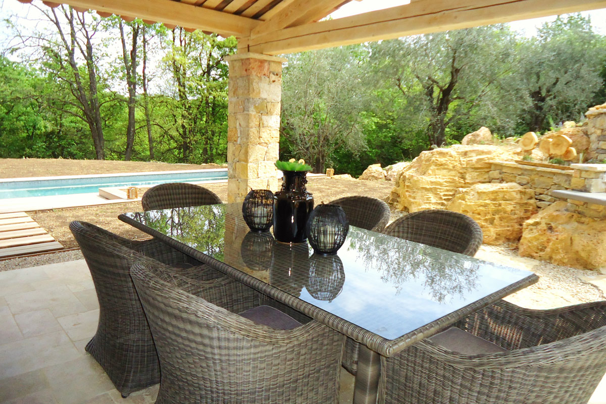 Villa South of France heated pool