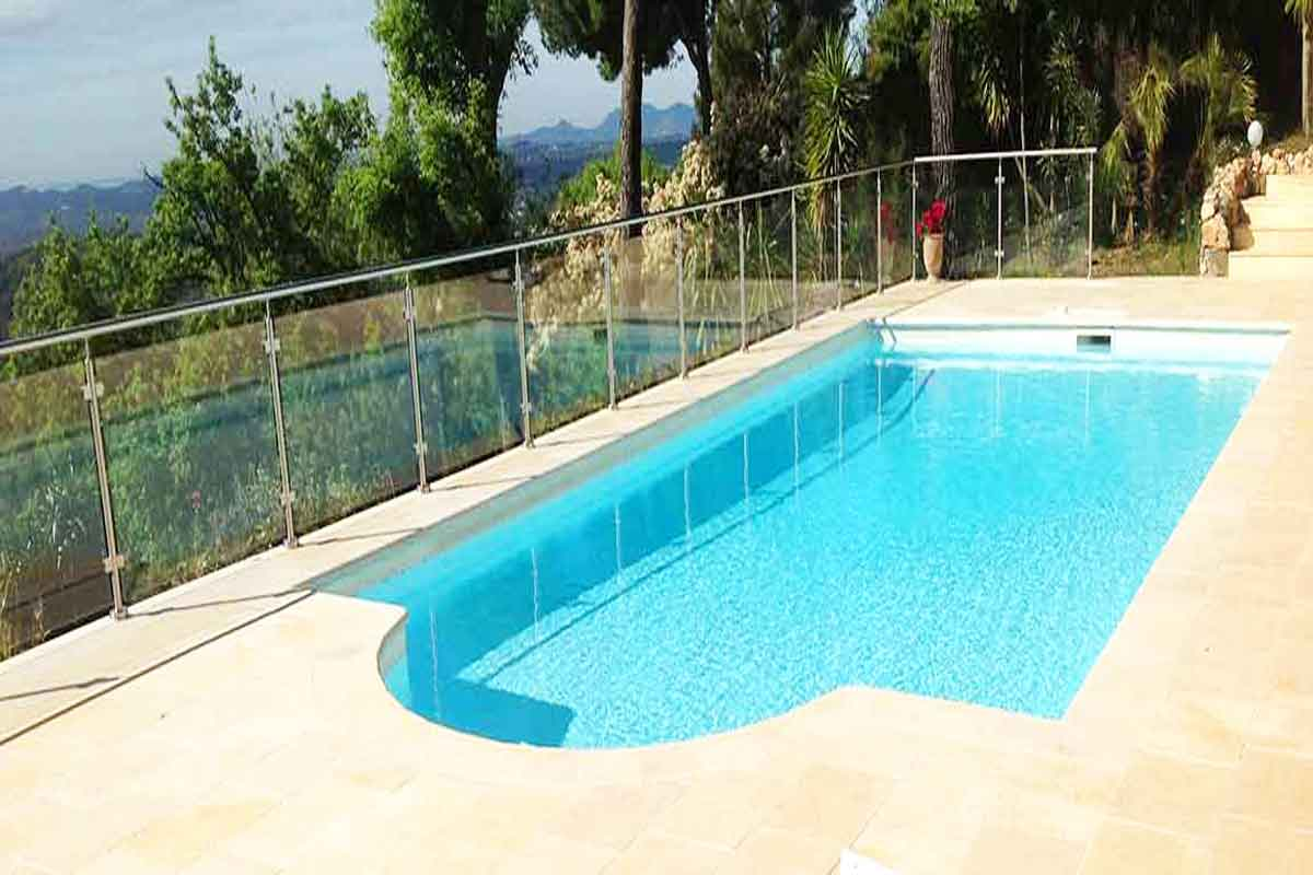South of France rental vacation home large pool