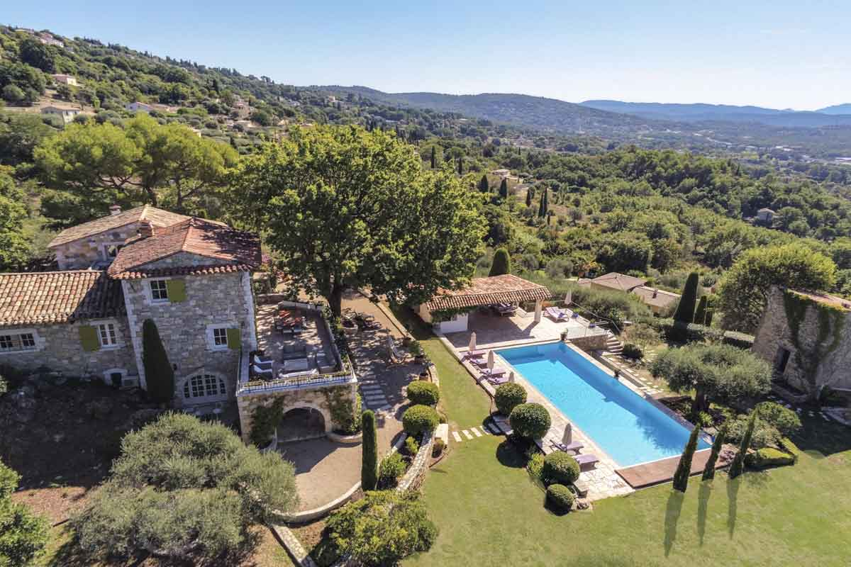 South of France Luxury Villa for 14