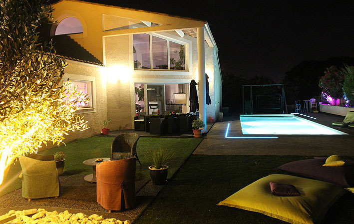 Cap d-Agde Villa with pool for rent
