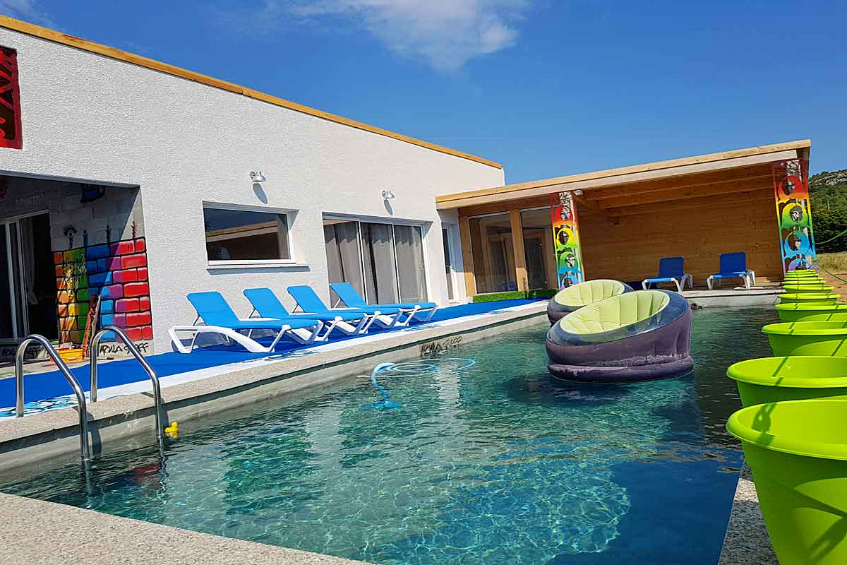 Corbieres Villa Rental with pool for 8