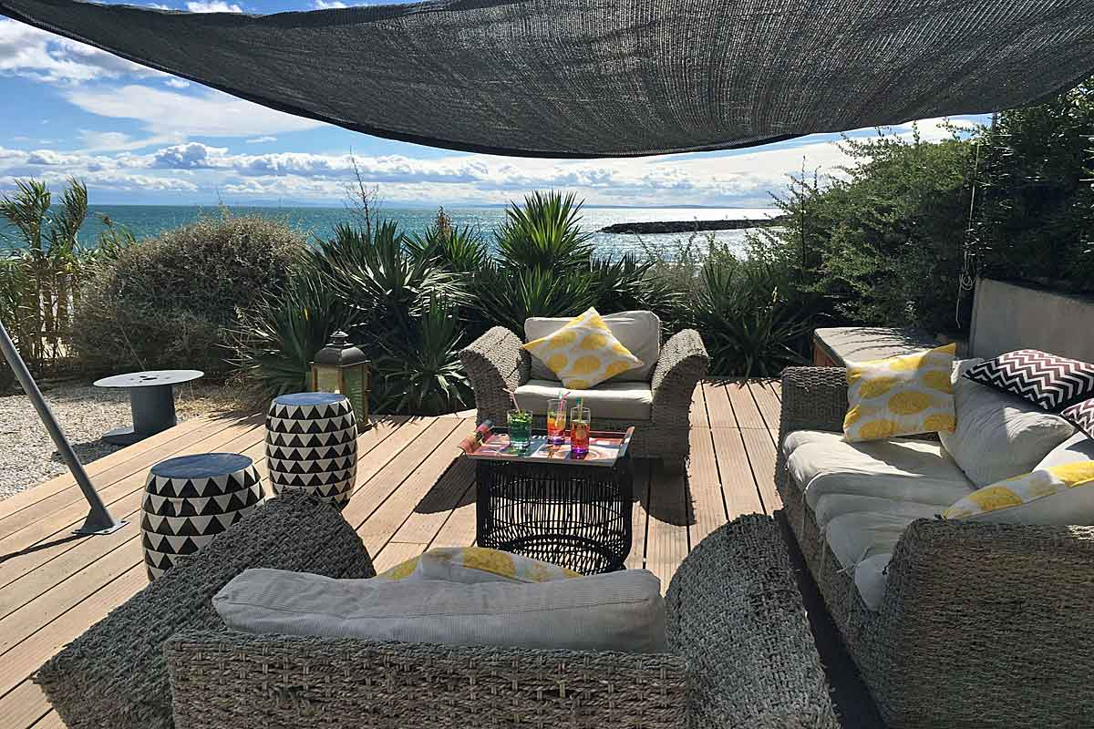 Beachfront Holiday Villa in Languedoc