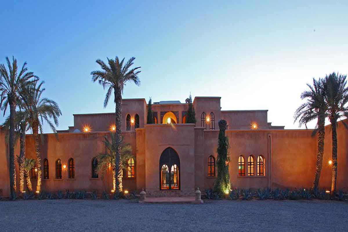 Bedroom Houses For Rent Luxury Moroccan Villa To Rent With Pool To Sleep 14