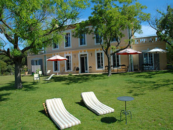 large family villa Languedoc