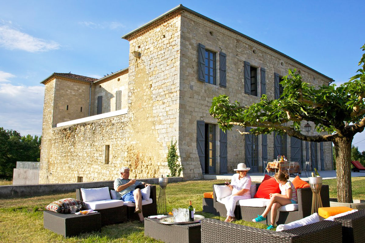 Gascony Holiday Chateau With Pool To Rent Near Toulouse
