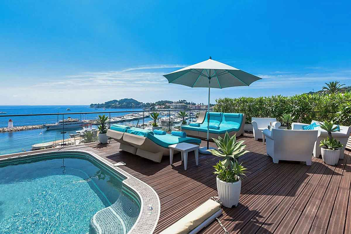 St Jean Cap Ferrat luxury beachfront villa