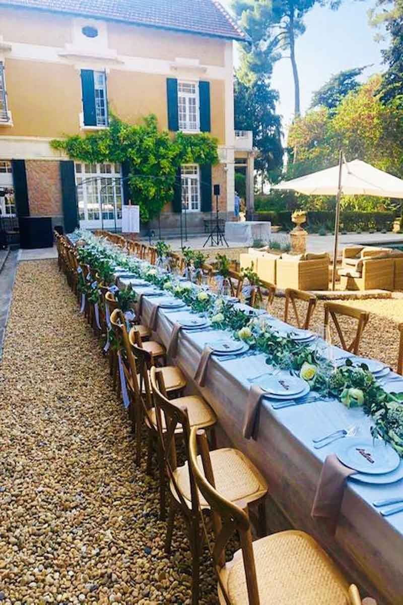 South France Villas Wedding Venue
