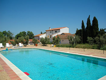Large villa with pool Languedoc