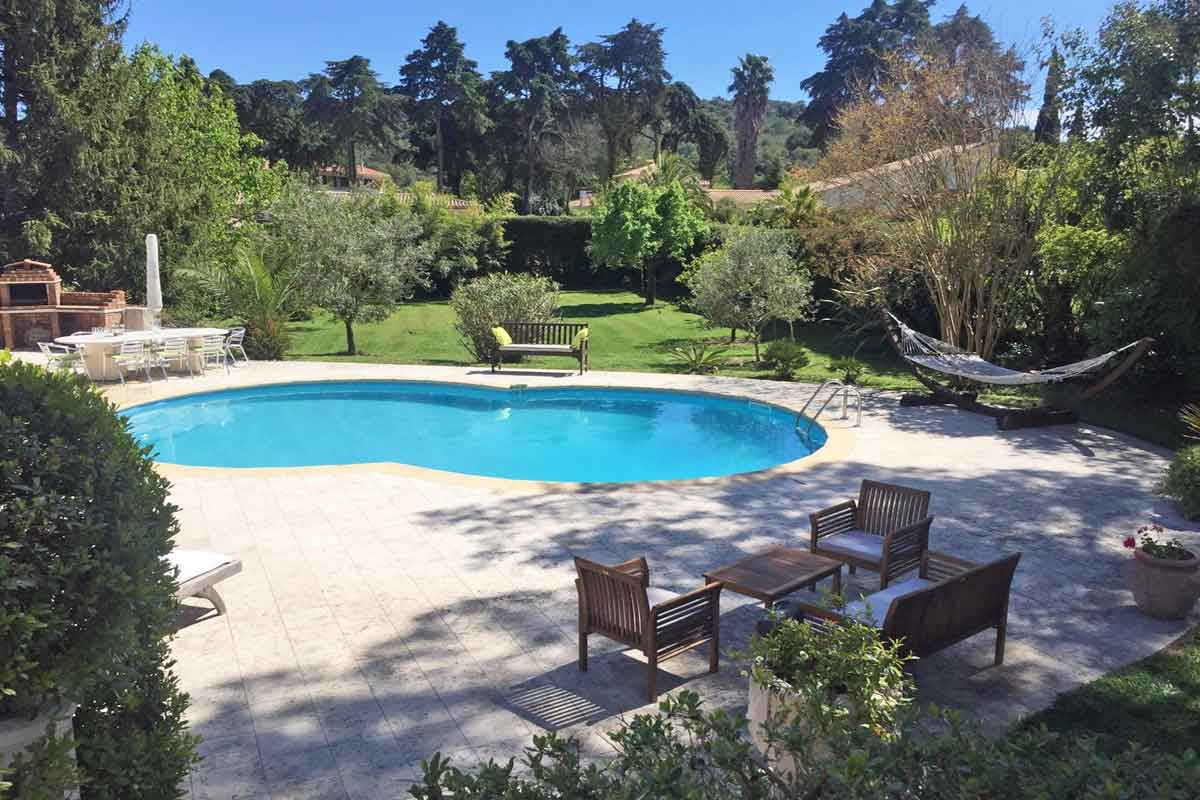Holiday Villa Mougins to rent