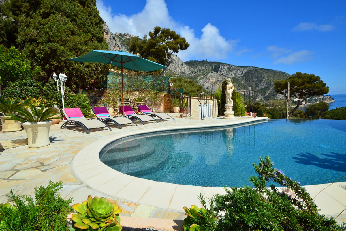 France Holiday Villa With Heated Pool